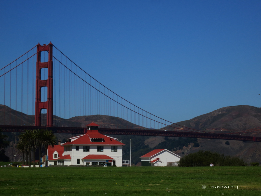 Crissy Field и Golden Gate