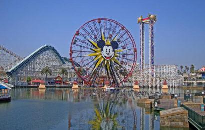 Диснеевский Парк Приключений, Калифорния Часть4  Disney's California Adventure Park