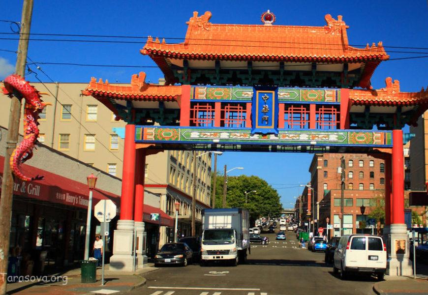Сиэтл. Китай- город. Часть 1 (Chinatown in Seattle)