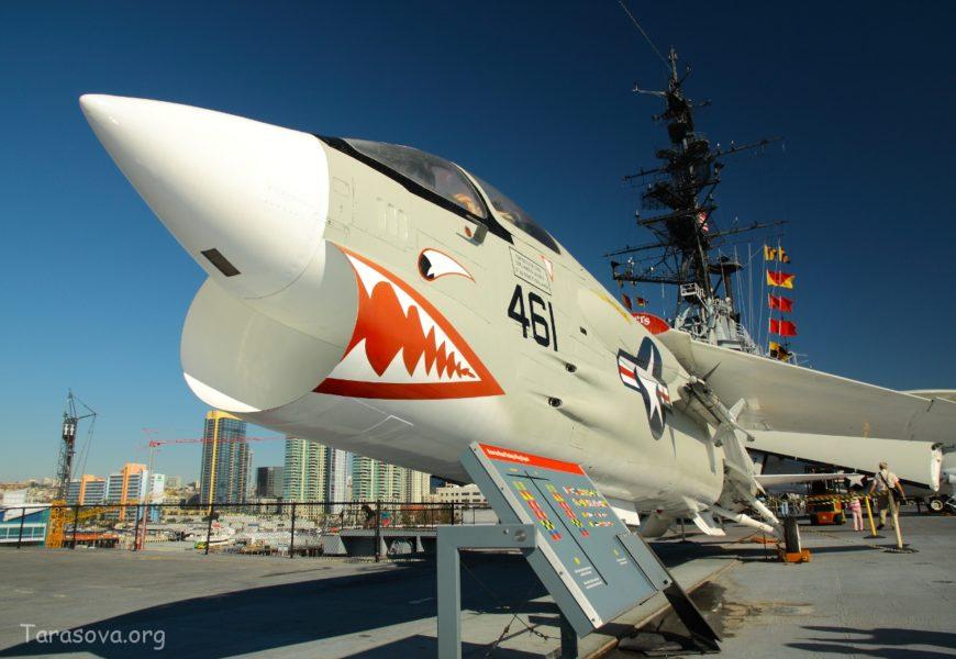 Авианосец-музей в Сан-Диего.  Midway in San Diego