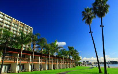Отель в Сан-Диего.  Hotel in San Diego.