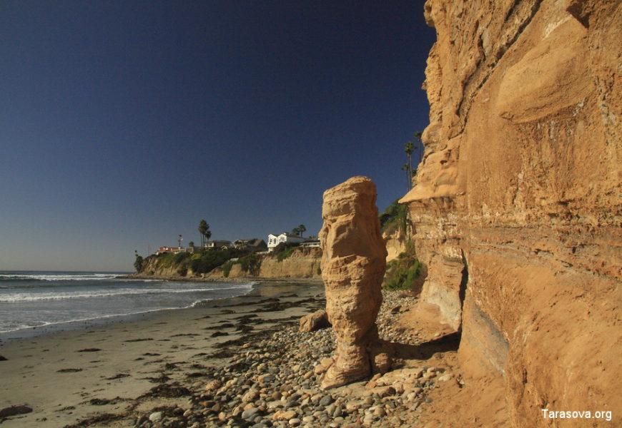 Пляжи залива Мишн в Сан-Диего. Mission & Pacific beaches in San Diego.