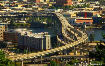 Портленд и его окрестности. Штат Орегон.  Portland, Oregon