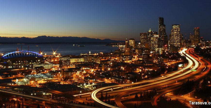 Бикон-Хилл в Сиэтле.  Beacon Hill in Seattle.
