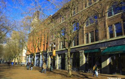 Сквер пионеров в Сиэтле. Часть 2.  Pioneer Square in Seattle. Part  2.