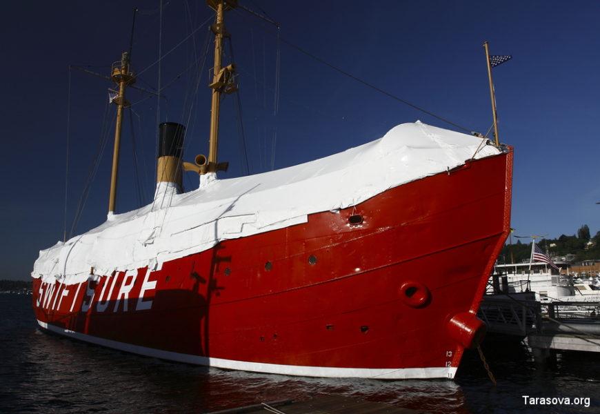 Музей кораблей в Сиэтле. Часть 2.  (Museum of ships in Seattle)