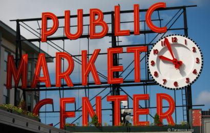 Пиковое место Сиэтла — Pike Place Market (Часть 1)