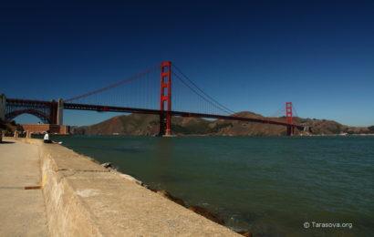Золотые Ворота в Сан-Франциско. Golden Gate in San Francisco  Часть 2