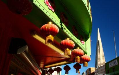 Китайский квартал в Сан-Франциско. Часть 1.  China Town in San Francisco
